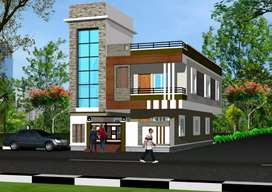 Newly Built house Two side Road 150 Sqyds G+1 back side 7 Tolichowki