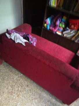 Sofa set maroon color