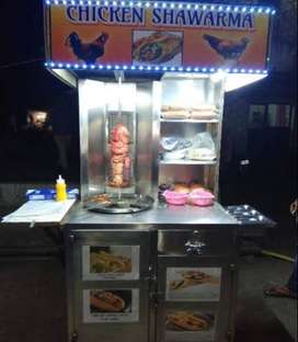 shawarma stall available for school canteen, university canteen