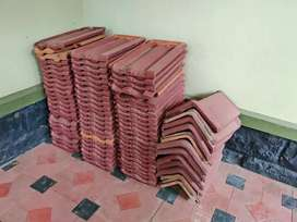 Unused Roof Tiles. ഇരട്ട പാത്തി ഓട്