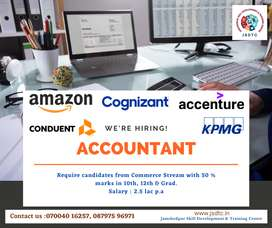 Accountant required for MNCs