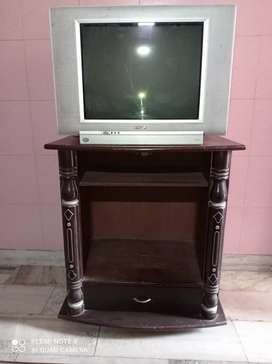 Tv with trolly