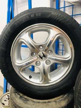 Used Alloy Rim & Tyres Set