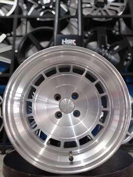 HSR WHEEL Vce-t Ring 16x8,5/9,5 H4(100) Silver Polish