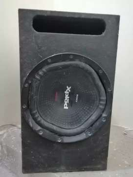 Base tube with 1800w woofer sony xplod