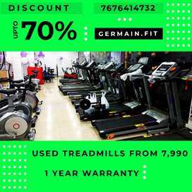USED MOTORISED TREADMILLs 7,990 onward 1 YEAR WARRANTY 20 Models Live