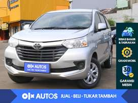 [OLX Autos] Toyota Avanza 1.3 E M/T 2016 Silver