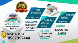 Great Earning Opportunity Work At Home With Data Entry Part Time