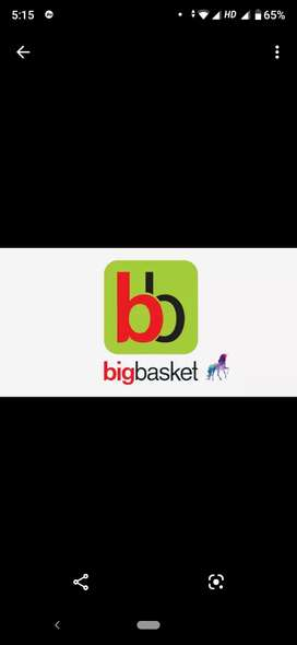 Hiring for Big Basket for delivery executive