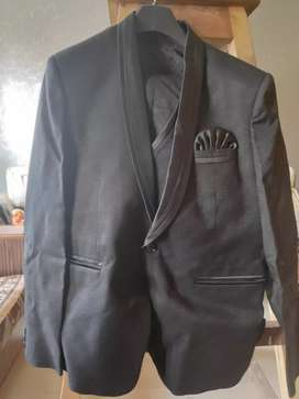 Cotton Black, one time used