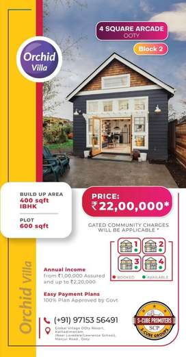 Ooty Orchid 2 Bhk Villa
