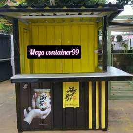 Container cafe-booth container kedai-booth container