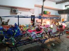 pabrik mainan kereta panggung mini komedi putar odong odong BARU MRC 1