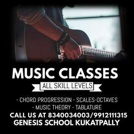 Music classes and Home tutions Available