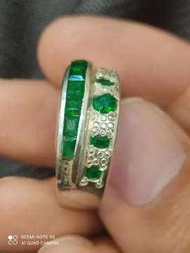 Emerald ring  nice quality