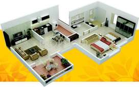 Ready Possession new flat for sale wagholi