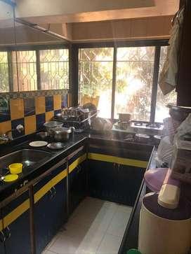 1bhk fully furnished in vashi sec-16 on 1st floor