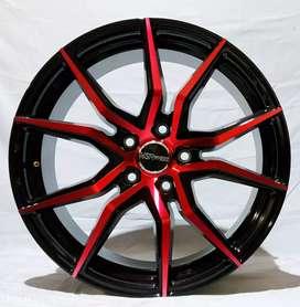 Jual velg racing HSR Ring 18 Untuk mobil Expander, Terios(bisa credit)