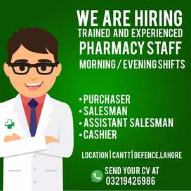 Job offer for A Pharmacy