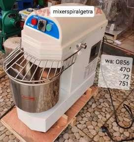Mixer Spiral Getra DH-10 Roti Adonan 6 Kg