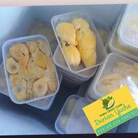 Durian medan. Daging durian. Sirsak. Durian montong.