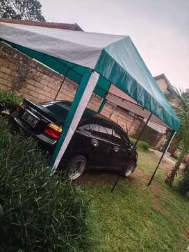 Tenda cafe  & perlengkapan  usaha di pinggir jalan  murah