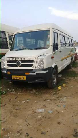 Tempo traveller CNG 20+1 seater in excellent showroom like condition.