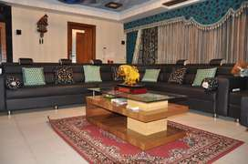 Duplex fully furnished apartment for sale with bar and home theatre