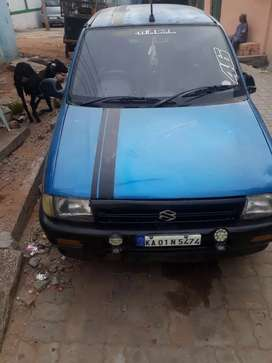 Maruti Suzuki 1000 in mint condition