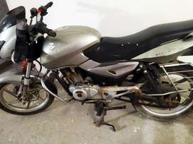 7 years old silver bajaj pulsar 150 in superb conditions