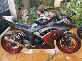 Kawasaki Ninja 250RR ABS Grey 2017 KM12ribuan