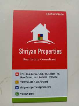 3 bhk on rent in sector 5, New Panvel, Near D-Mart,