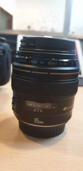 Canon 85mm for rent VikNick