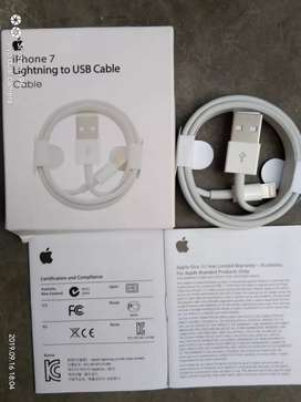 Brand new orignal certified apple iphone data cable with 1 yr warranty