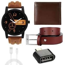 Combo watches blet sunglasses cap purse