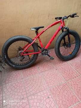 Viva fat bike good condition