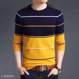 Trendy poly cotton Men's T- Shirt
