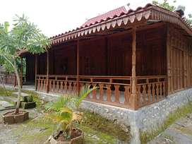Tanah 1188m2 Bonus Rumah Joglo Hanya 450juta dkt Goa Pindul SF7230