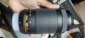 Nikon 70-300 Telephoto lens . 1 yr 4 months old