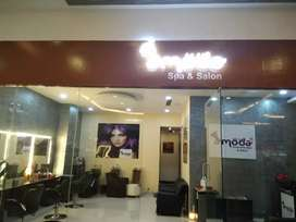 Currently running Salon  for sale or partnership at Whitefield