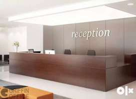 Only For Girl Receptionist