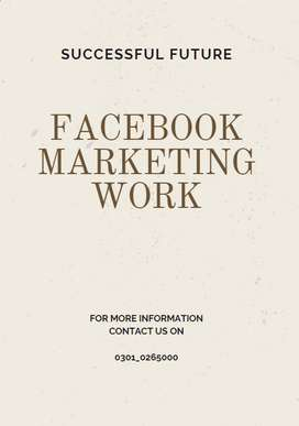 grab this oadrable offer for earning facebook marketing work
