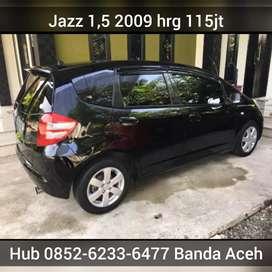 Jazz 1,5 2009 bisa proses kredit bisa tukar tambah showrom 777 Mobil