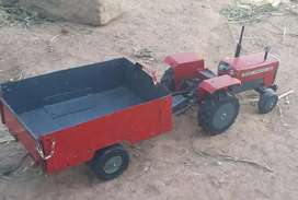 Tractor trolley  hand made