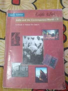 Class 10 CBSE history part 2 reader