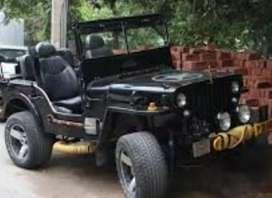 Mahindra open jeep