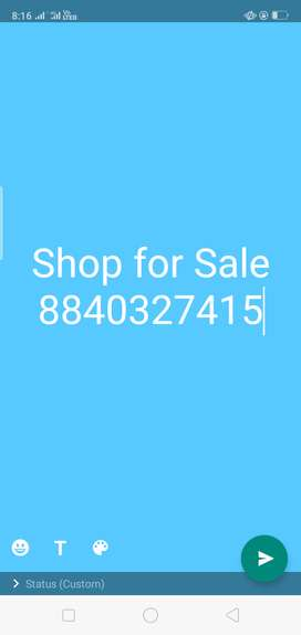 Shop for sale in Aminabad Market