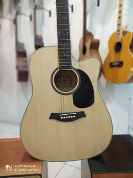 Gitar Akustik Elektrik Folk