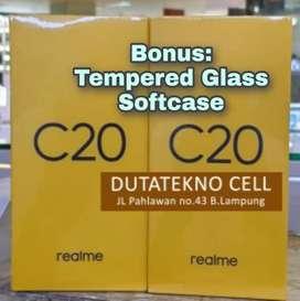 REALME C20 2/32 (Bonus TG dan Softcase) Garansi Resmi