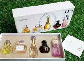 Dior gift set parfum travel 5in1